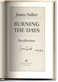 Burning The Days: Recollection.