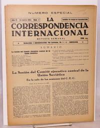 image of La Correspondencia internacional; revista semanal, año VI, num. 4, 23 enero 1934
