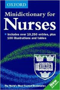 Minidictionary for Nurses (Minidictionaries)