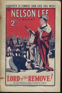 """image of THE NELSON LEE LIBRARY; The St. Frank's Weekly: New Series No 22, October, Oct. 2, 1926 (""""Lord of the Remove!"""")"""