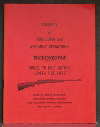 image of Sequence of Take-down and Assembly Operations Winchester Model 70 Bolt Action Center Fire Rifle 22