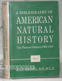 New York: Hafner Publishing Co, 1967. cloth. Natural History. 8vo. cloth. 244; xii,741; xii,749 page...