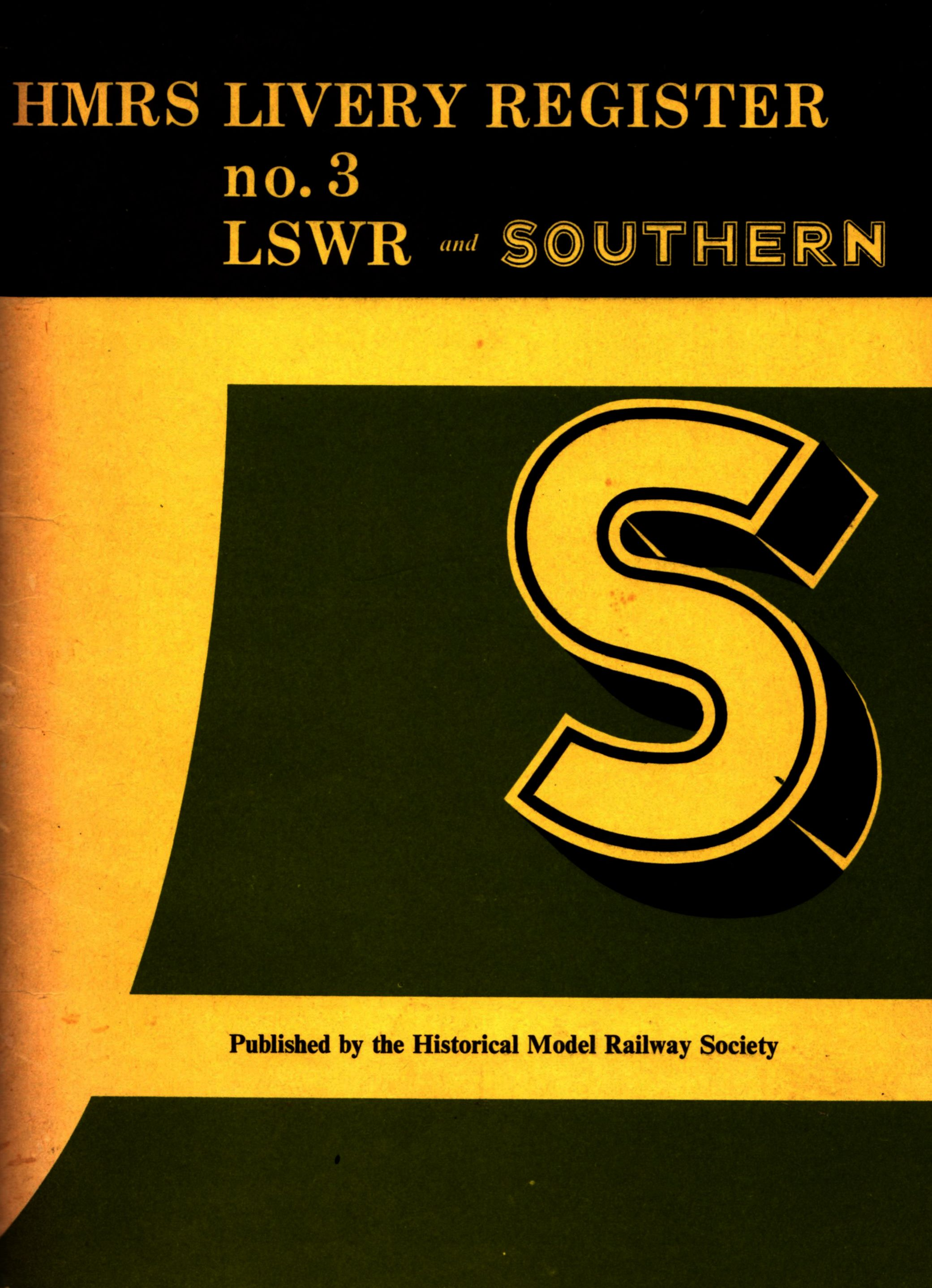 9780902835009 - HMRS Livery Register Number 3 LSWR And