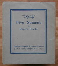 """image of """"1914."""" Five Sonnets"""