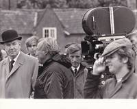 image of The Go-Between (Original photograph of Joseph Losey and Michael Redgrave on the set of the 1971 film)