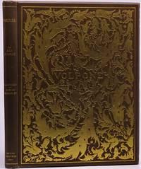 VOLPONE Mit Initialen, einem Titelblatt und Deckel von Aubrey Beardsley. Autorisierte deutsche Ausgabe von Margarete Mauthner.
