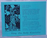 image of Sing the Body Electric [handbill]
