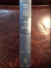 Baba Bathra I & II The Soncino Hebrew-English Babylonian Talmud Hardcover