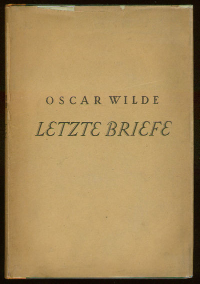 Berlin: S. Fischer Verlag, 1925. Hardcover. Fine/Very Good. First edition. Fine in an attractive, ve...