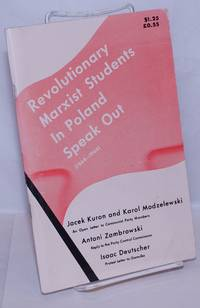 image of Revolutionary Marxist students in Poland speak out, 1964-1968