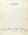 View Image 1 of 2 for Typed Letter Signed with Autograph Additions  Inventory #2422