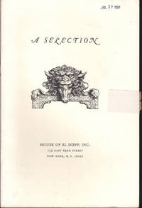 image of Selection. (Catalogue, A.