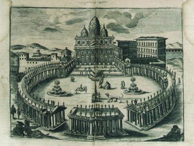 Rome: Roque Bernabo, 1711. Rare Spanish-language Rome guide for Spanish-speaking pilgrims/tourists t...