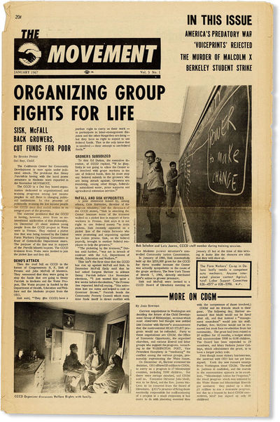 San Francisco: The Movement Press, 1967. First Edition. Paperback. Well-preserved issue of this SNCC...