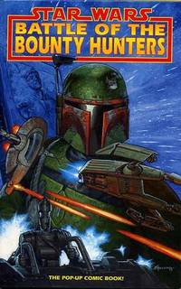 image of Star Wars Battle Of The Bounty Hunters. The Pop-Up Comic Book!