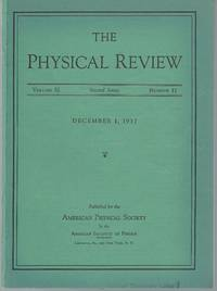 On the Nature of Cosmic-Ray Particles (Physical Review; Volume 52 No. 11, pp. 1198-1199)