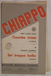 CASETTA TRISTE - SEI TROPPO BELLA