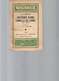 Histoire d'une famille de lions  récit africain