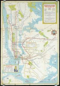 New York City Rapid Transit Lines. Principal Auto Routes. (Map title: The Seamen's Bank for Savings Rapid Transit Map of Greater New York.)