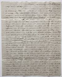 [Autograph Letter, Signed, from Hugh McCalmont to His Father, Reporting on Their Business Affairs in Mexico During the Early 1830s]