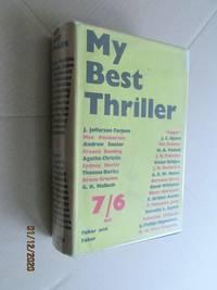 My Best Thriller 1933 First Edition Hardback in Original Dustjacket