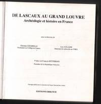 image of De Lascaux au Grand Louvre : archéologie et histoire en France
