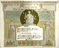 Four invitations celebrating the Opening of Parliament of the Commonwealth of Australia, some designed by prominent Australian artists; 'Opening of the Parliament of the Commonwealth by his Royal Highness The Duke of Cornwall and York'