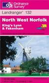 image of North West Norfolk: King's Lynn and Fakenham (Landranger Maps)