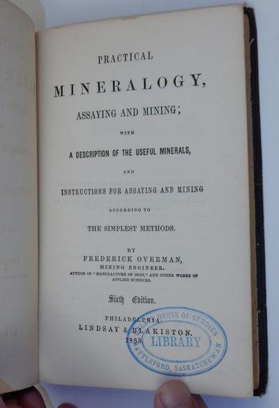 Philadelphia: Lindsay & Blakiston, 1863. Cloth. Very Good. x, 13-230 pages. 8vo. Publisher's cloth g...