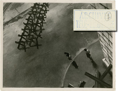 Moscow: Mosfilm, 1957. Vintage oversize, double weight photograph from the 1957 film. From the archi...