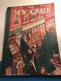 NEW YORKER MAGAZINE DECEMBER 21, 1935