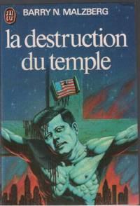 La destruction du temple