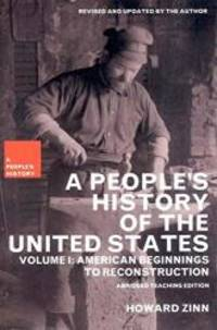 image of A People's History of the United States: American Beginnings to Reconstruction (New Press People's History)