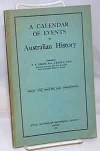 A Calendar of Events in Australian History