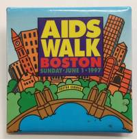 AIDS walk / Boston / Sunday, June 1, 1997 [pinback button]
