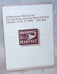 image of A Harmonic Harvest: October 22_23 1982 8pm