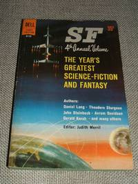 image of SF 4th Annual Volume The Year's Greatest Science Fiction and Fantasy