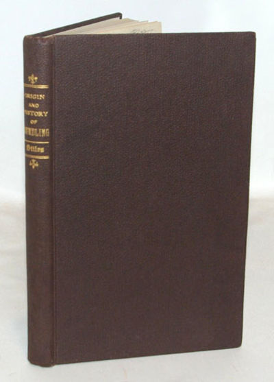 Albany: Knickerbocker Publishing Company, 1871. First Edition. Fine in brown, pebbled cloth covered ...