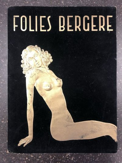 Paris: Paul Derval, 1952. First Edition. Softcover. Quarto, Unpaginated; VG-; fully bound in black c...
