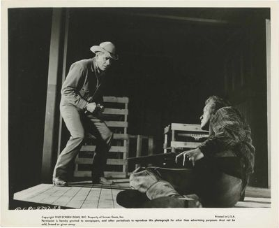 N.p.: Screen Gems Inc, 1962. Three vintage studio still photographs from the 1957 film, struck for 1...