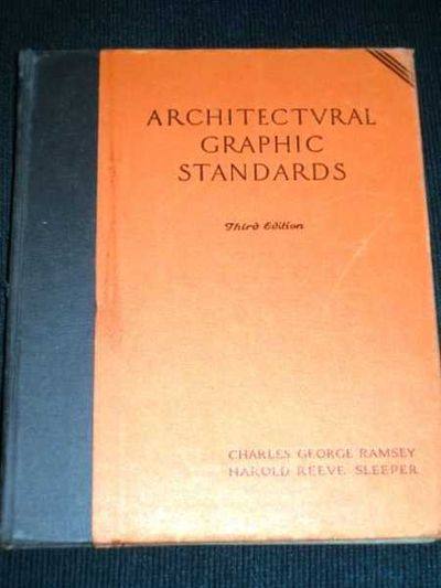 Architectural Graphic Standards By Ramsey Charles George