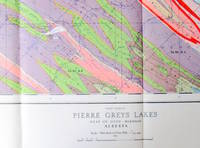 Fold-Out Geological Survey Map in Colour. Map 996a Pierre Greys Lakes Alberta West of Sixth Meridian