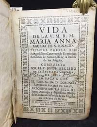Vida de la  V.M.R.M. María Anna, Agueda de San Ignacio