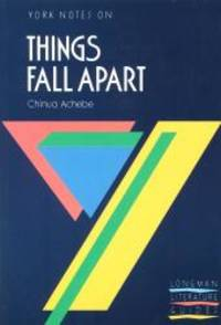 Things Fall Apart: York Notes for GCSE by Chinua Achebe - Paperback - 1988-02-06 - from Books Express (SKU: 0582023122)
