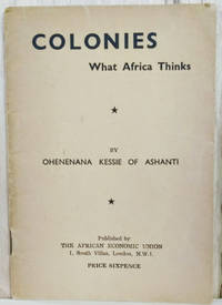 image of Colonies:  What Africa Thinks