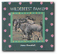 Wildebeest Family by  Jane Goodall - First Edition - 1991 - from Books in Bulgaria (SKU: 10233)