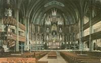 Canada – Montreal, Eglise Notre-Dame, La Nef, early 1900s unused Postcard