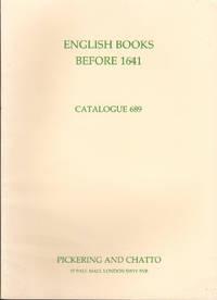 image of Catalogue 689: English Books Before 1641