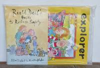ROALD DAHL'S GUIDE TO RAILWAY SAFETY with Explorer Activity Book and pencil.