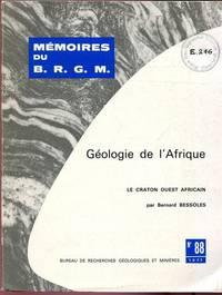 Géologie de l'Afrique.